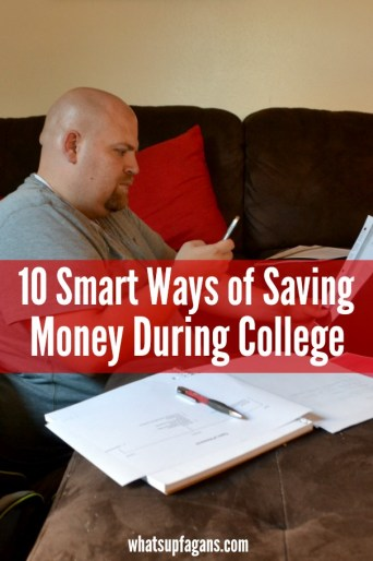 College can be expensive with your limited income. Here are 10 smart tips on how to make life easier financially. #Phones4School #cbias #shop