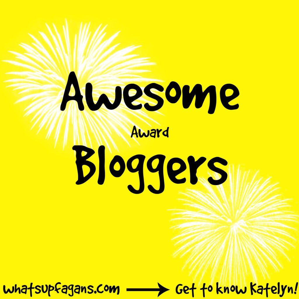 Awesome Bloggers Award