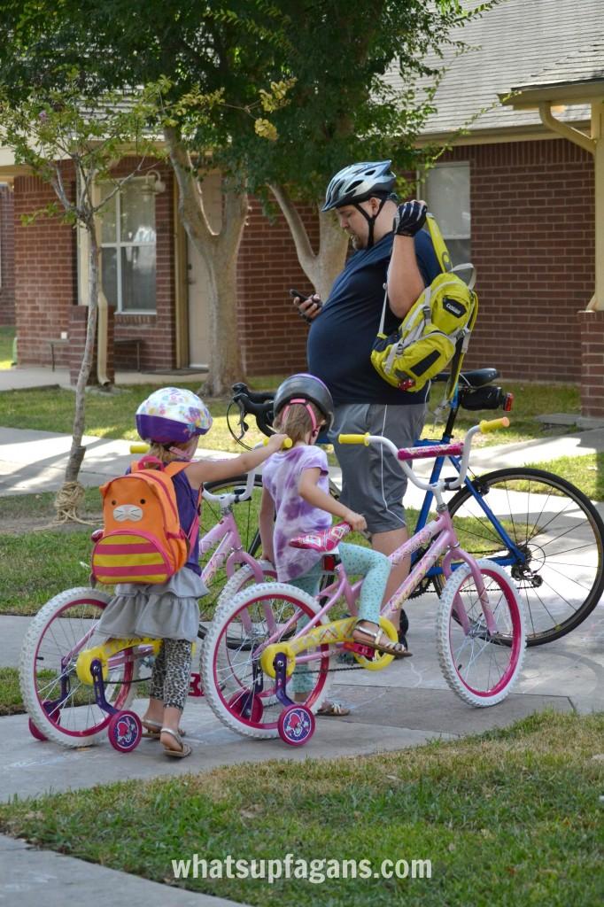 Working on getting healthy with a family bike ride #BalanceRewards #Shop #Cbias