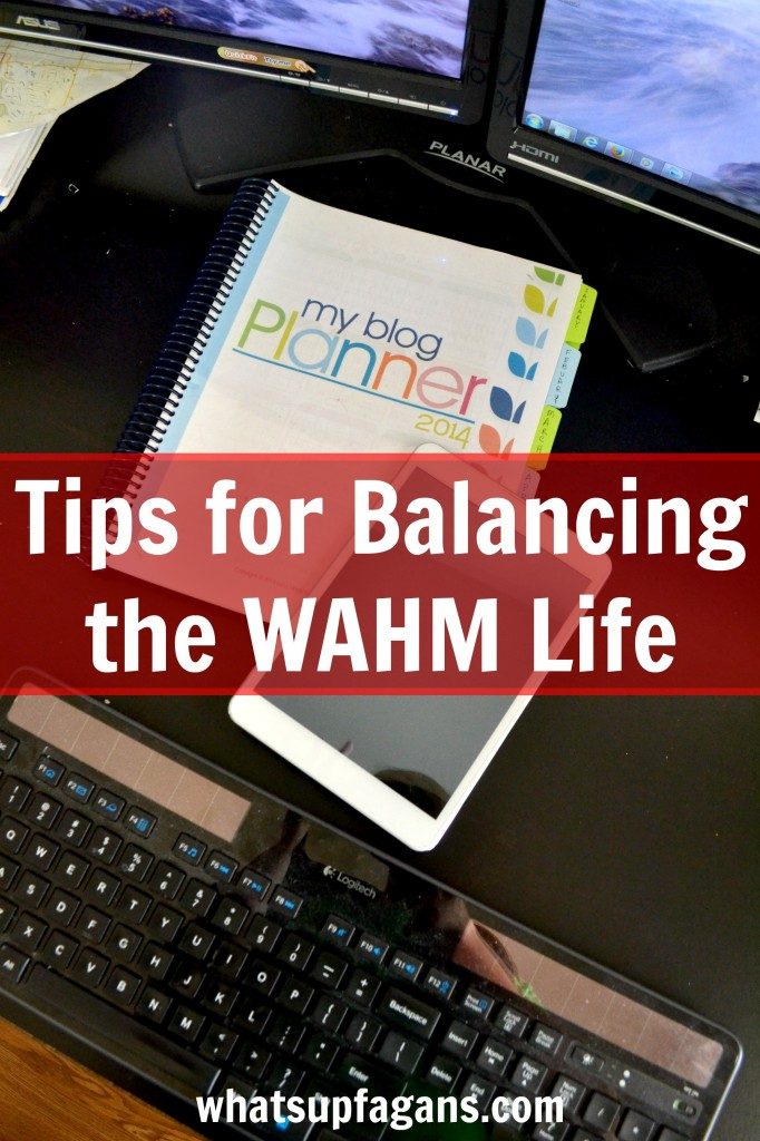 Tips for Balancing the WAHM Life