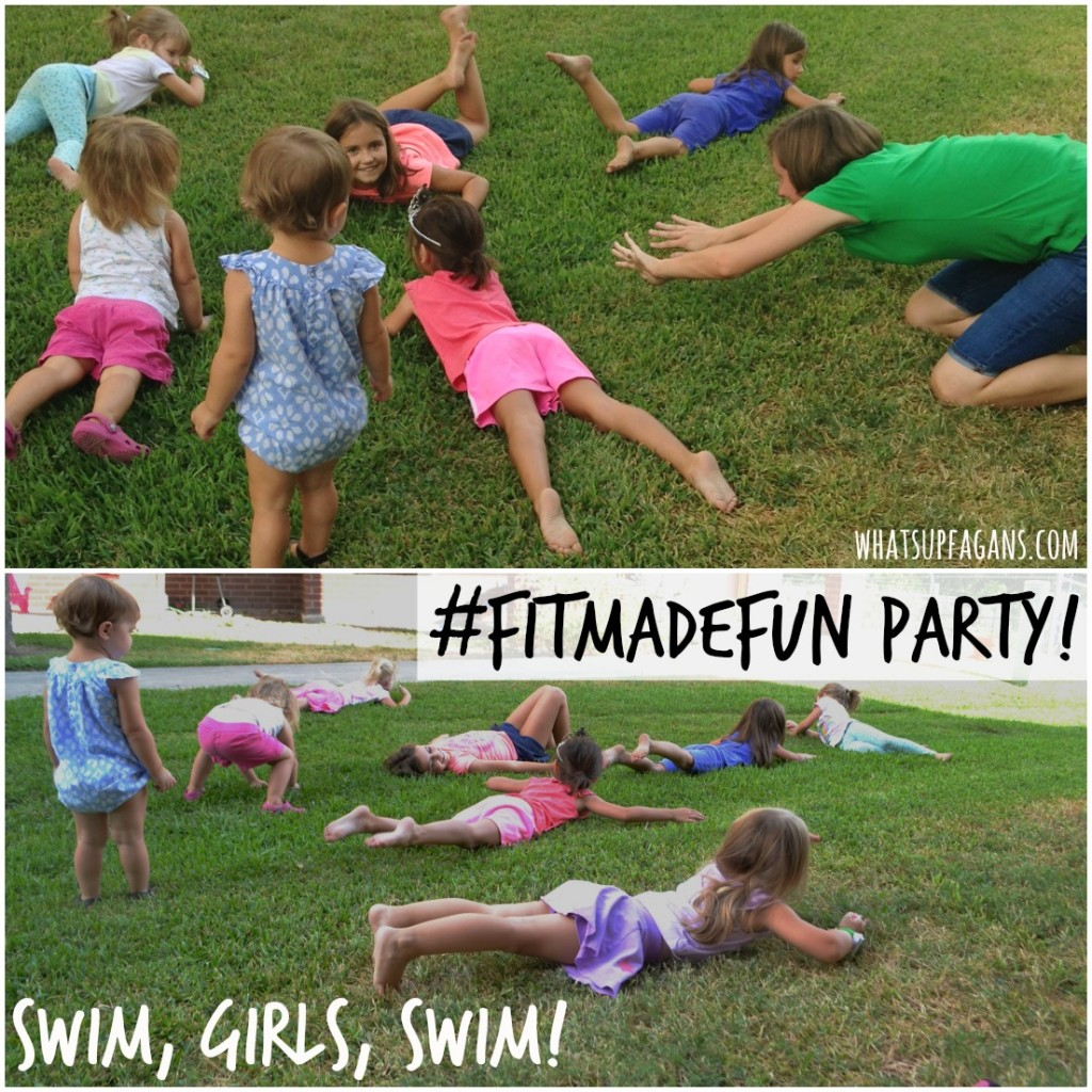 #FitMadeFun Swimming in the Grass