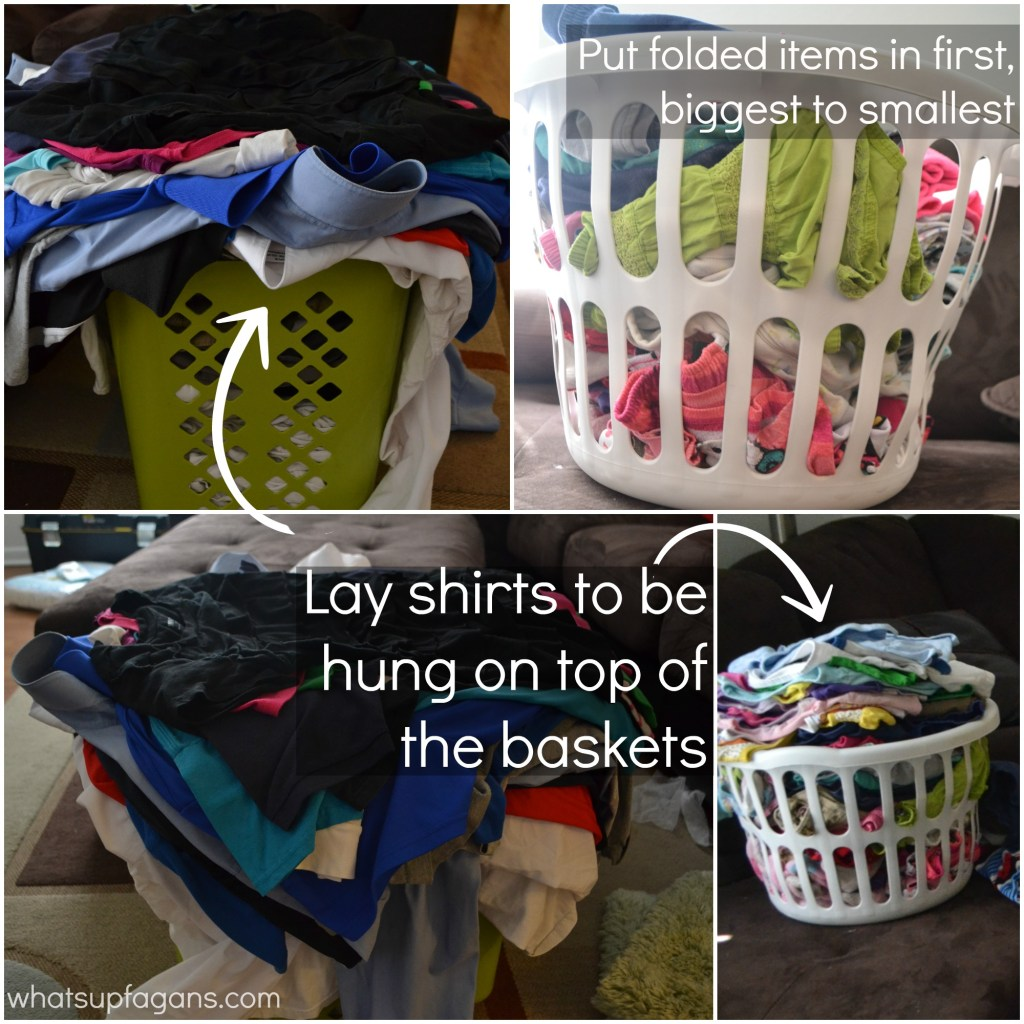 how to do laundry fast - how to get laundry done faster