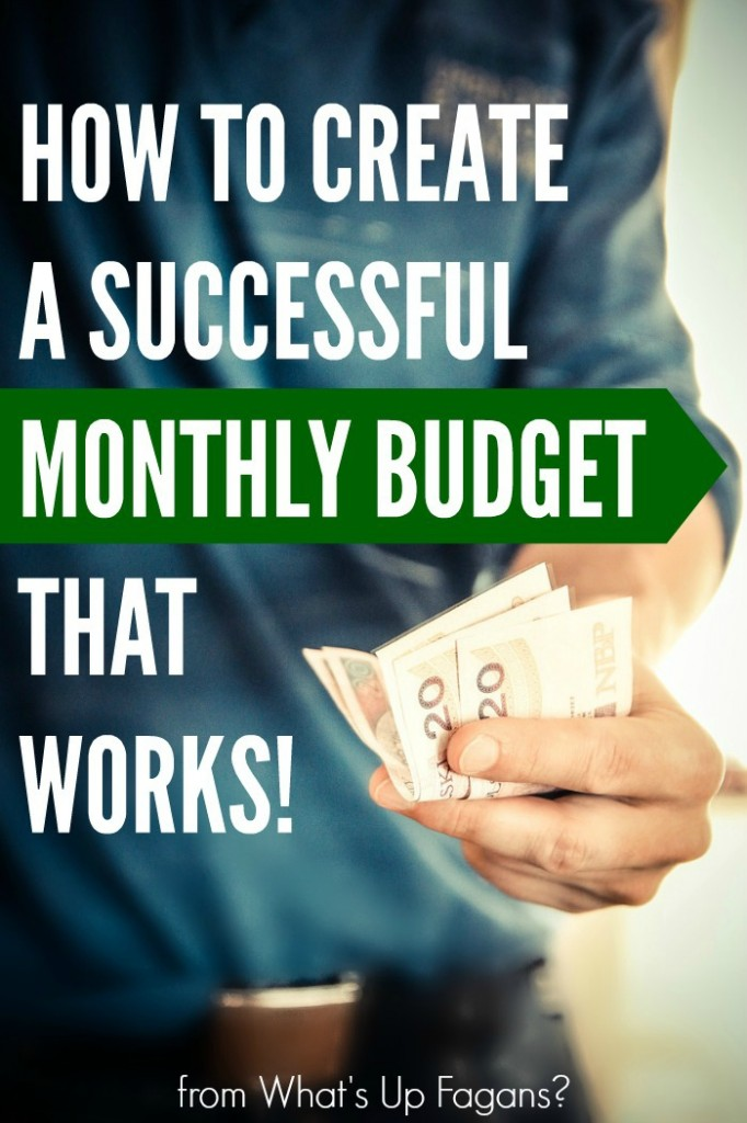 Love these tips on how to create a successful monthly budget for a family that actually works! Even includes a FREE excel spreadsheet document with a budget template for an entire year!
