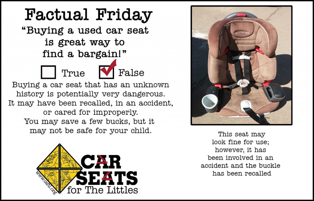 Car Seats - Buying Used