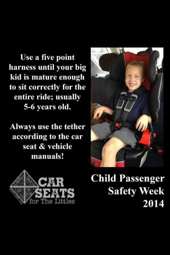 Car Seats - Five Point Harness until five