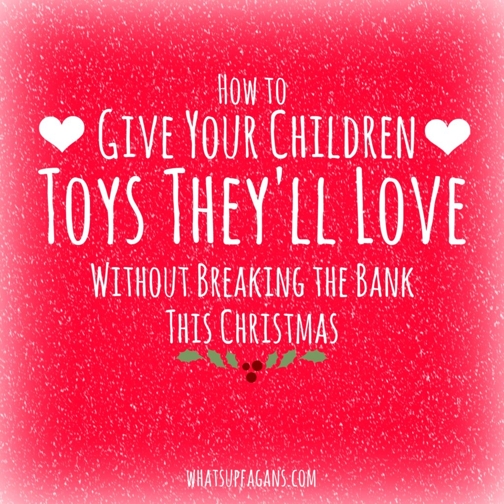 Awesome tips for finding the right toy and how to make everything more affordable during the Holidays. Great tips!