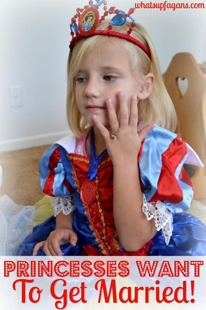 Every princess wants to get married! Princesses value marriage. #DisneyBeauties #shop #cbias