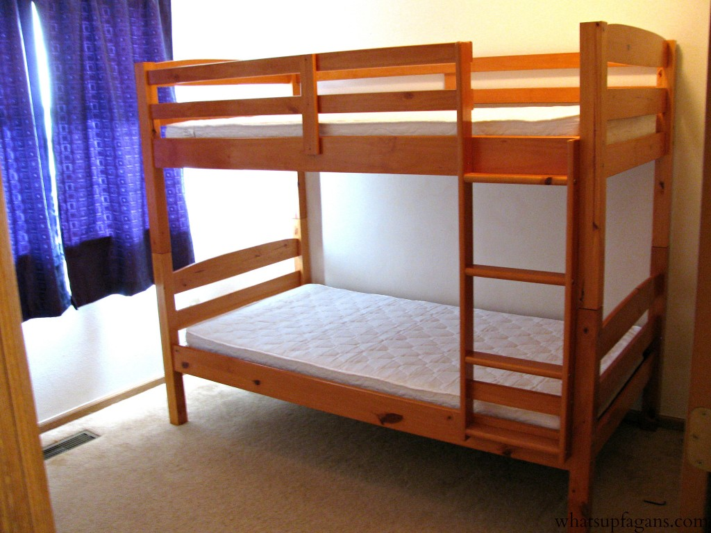 Bunk beds are a great sleeping option for twins!