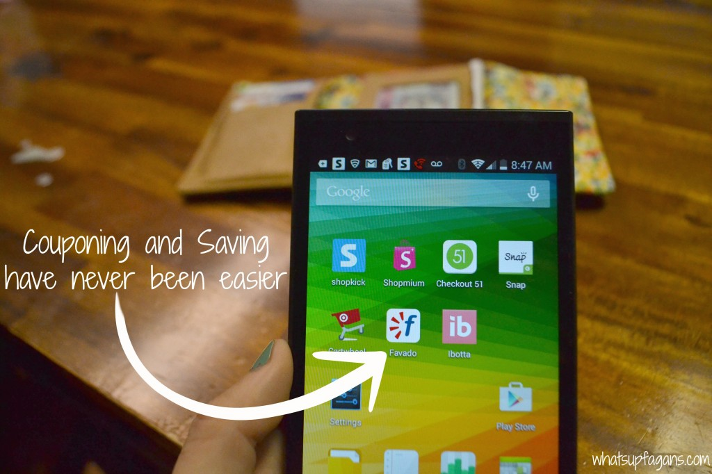 It's so easy to save and coupon with a smartphone! So #Thankful4Savings! #cbias #ad