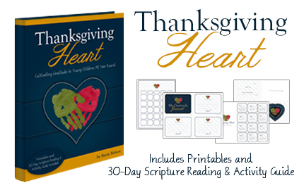 Thanksgiving heart: Cultivating Gratitude in Young Children All Year Round is a great gratitude activity ideas