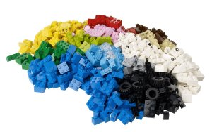 Get some Legos! They are a toy that will get played with again and again