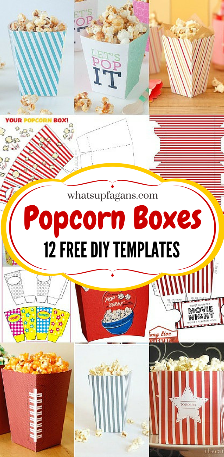 Critical image with popcorn box printable