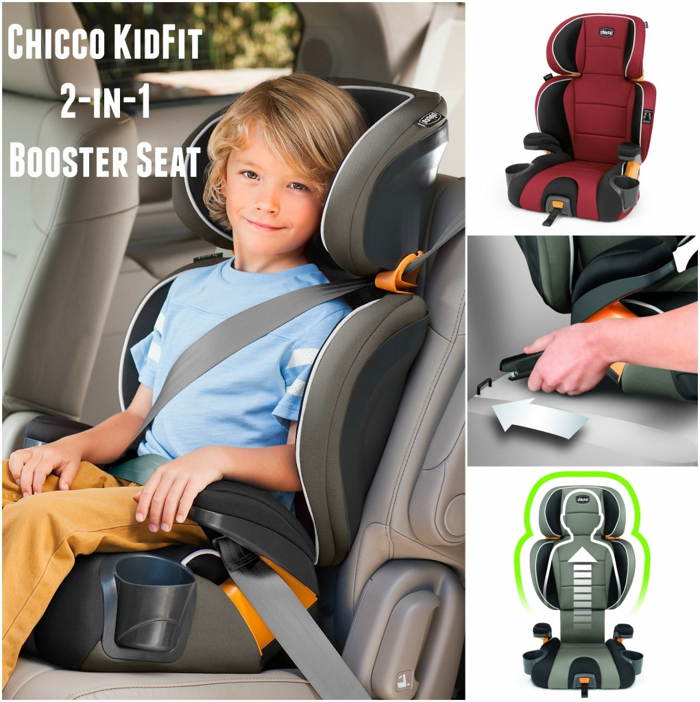 The #ChiccoKidFit 2-in-1 booster seat is a great seat. that can go backless or with the back.