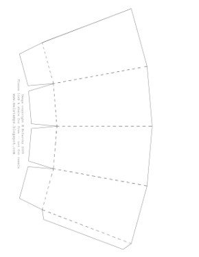 POPCORN box WITH score lines