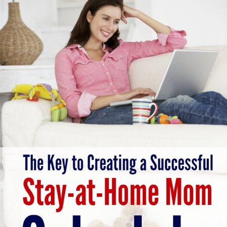 Yes! I couldn't agree more! The secret to a successful stay at home schedule really is sleep! I love all the supporting reasons she has for it, and even tips on how she's made it work with twins and a third child, all in the same room! Great parenting advice!