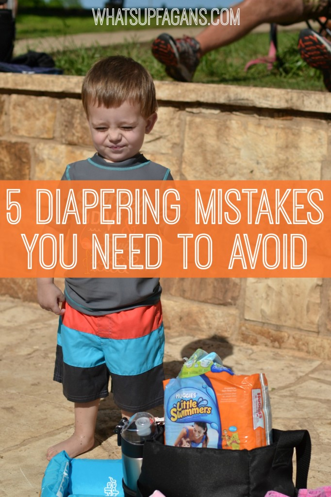 5 Diapering Mistakes You Need to Avoid