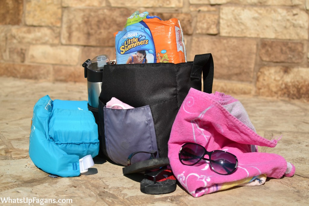 Forgetting the Huggies Little Swimmers diapers when headed to the pool to go swimming stinks!