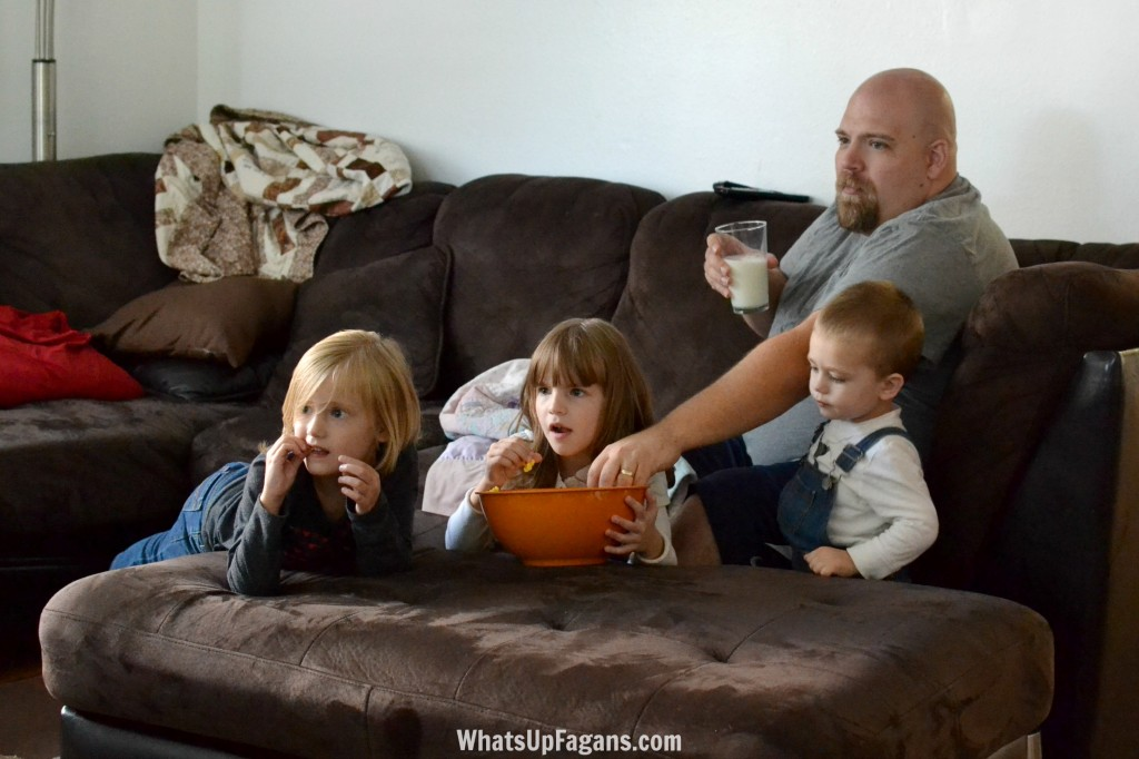 #MilkLife with a family movie night!