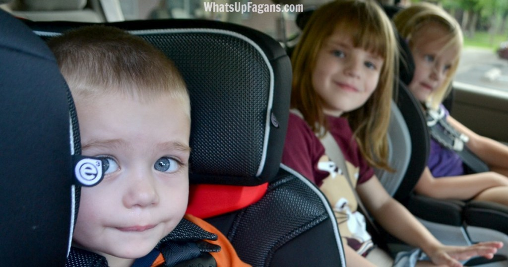 road trip car checklist - rearrange car seats