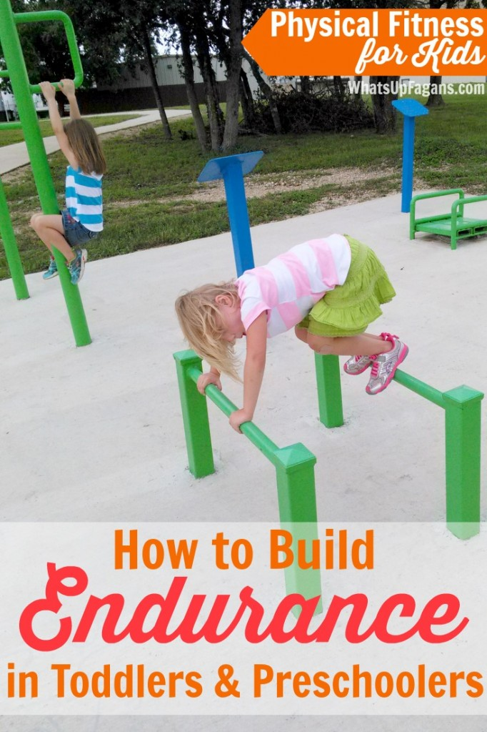If you want to know how to build endurance in preschoolers and toddlers, then read this post! Physical fitness for kids activities are just the beginning for exercise for kids. These parenting tips will help kids develop stamina!