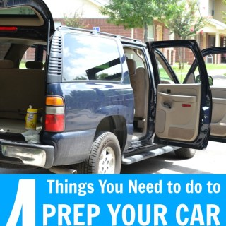 How to prepare for a new baby - make sure you prep your car!