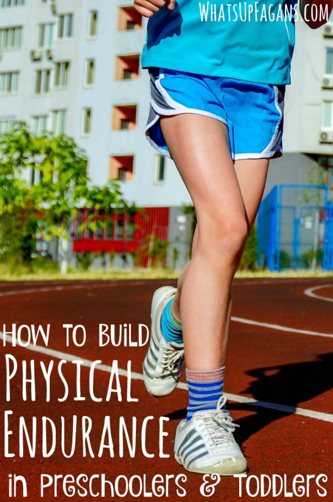 Great parenting tips to help build physical endurance in kids, especially younger kids. I totally want my toddler and preschooler to last longer walking around when we are out!