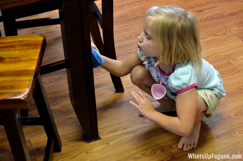 9 tips for speeding up the everyday cleaning process for your home. Definitely should get the kids involved!