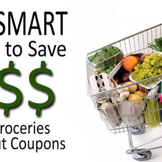 10 Smart ways how to save money on groceries without coupons!