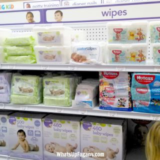 "UK based Waterwipes - chemical free baby wipes - have come across the pond to the US and Babies ""R"" Us! How awesome."