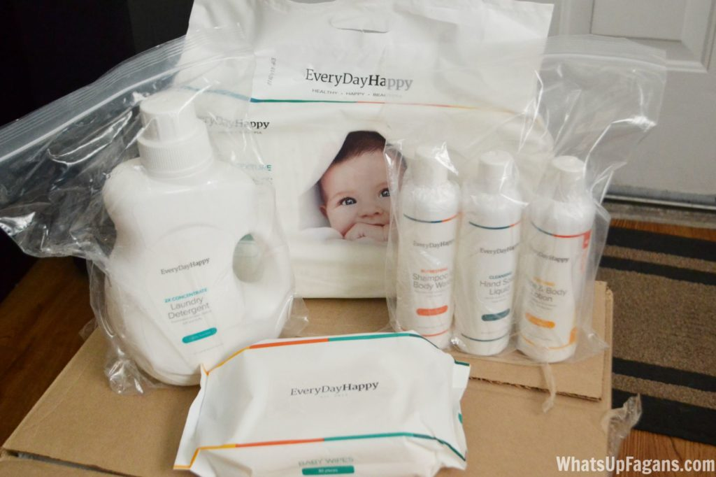 EveryDayHappy Family Care Kit Review and Baby Care Kit Review