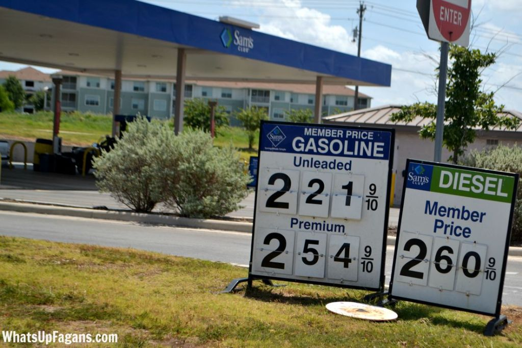 A Sam's Club Membership is awesome because of the fuel savings! Cheapest gas in town.