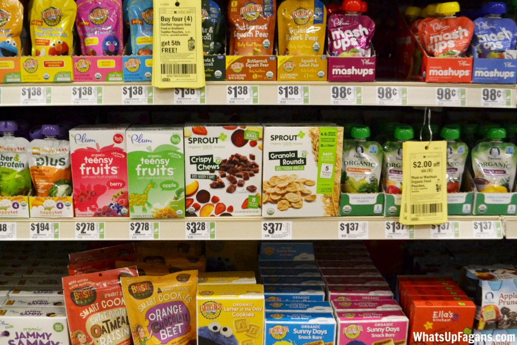 Sprout Organic Toddler Snacks at H-E-B