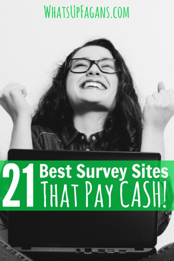 It is awesome to get paid to take surveys online, especially when you get paid cash! Love this great list of the best survey sites. It's a great way for moms (or anyone!) to make money online.