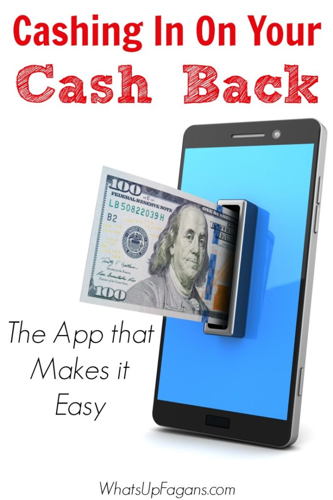 Great new app that makes it easy to cash out your cash back rewards right at the checkout!