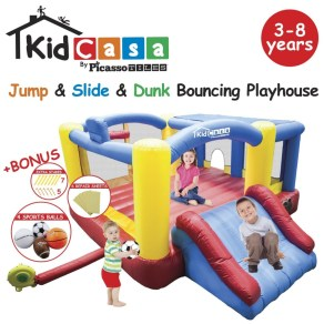 Outdoor Play equipment bounce house