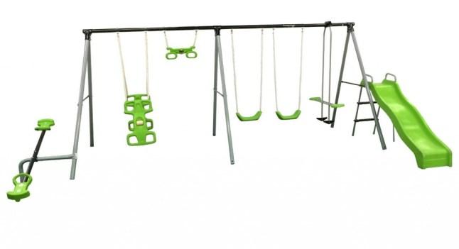 Outdoor Play equipment swingset