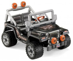 Outdoor play equipment power wheel jeep - great outdoor gift ideas for boys