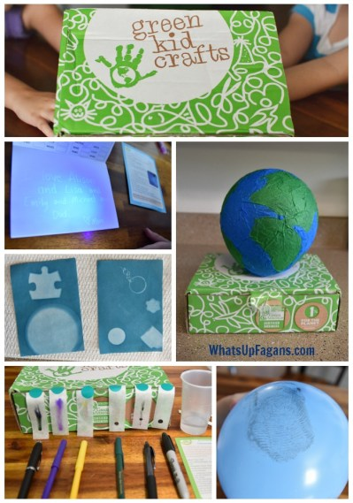 Green Kid Crafts project for preschoolers