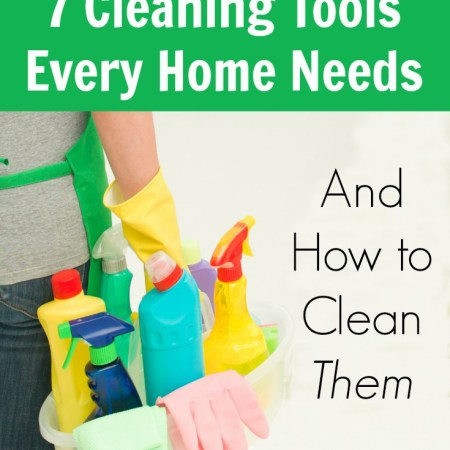 Overview of common cleaning tools most people use in their homes as well as how to properly clean and sanitize them so they'll keep it clean.