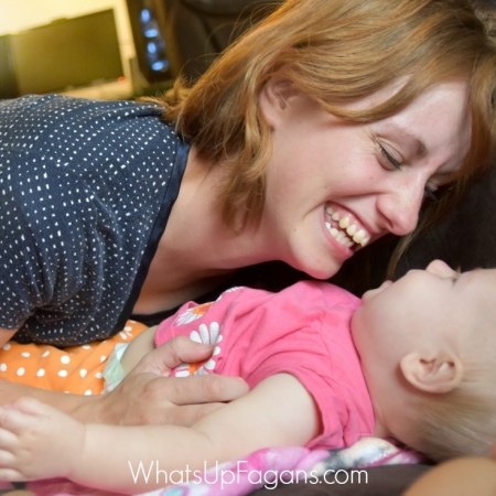 First time moms are all about doting and loving on their kids. This is a good reminder on how to do that after you've had a few kids.