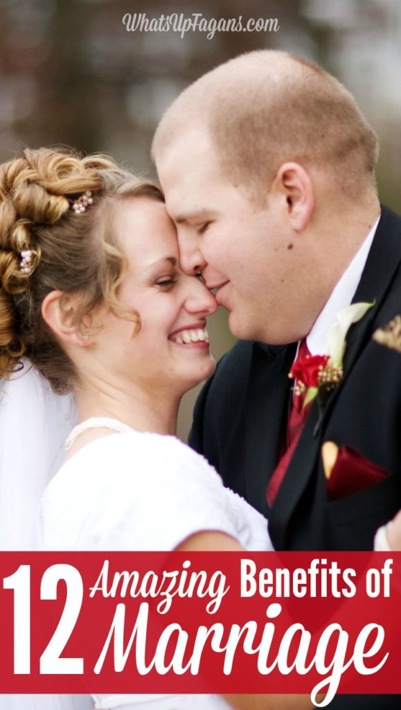 12 benefits of marriage - great list of reasons why you should get married even in the 21st century! Lists out the financial benefits, health benefits, emotional benefits, and social benefits of marriage.