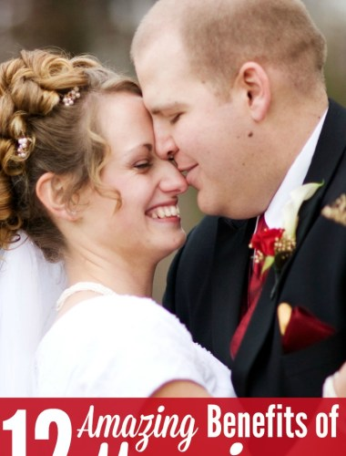 12 benefits of marriage - great list of reasons why you should get married even in the 21st century! Marriage is not obsolete!