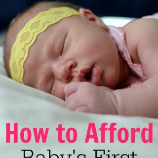 When you have a baby on a budget, you need all the money saving tips for moms that you can get! Great advice for having a baby with little or no money.