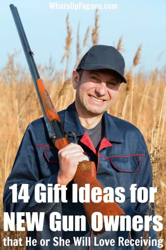 Gifts for new gun owners: Great Gun Gift Guide for all new firearms enthusiasts and gun lovers.