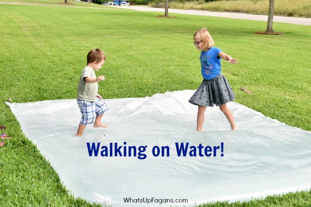 water-blob-walking-on-water-scripture-activity