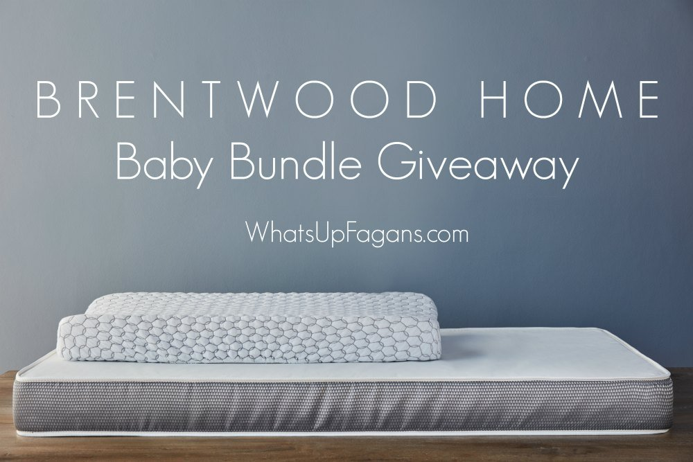 Must-have baby items, baby registry list, newborn essentials, what you need for baby, baby checklist, 0-6 months essentials. giveaway. Brentwood Home Mattresses. Changing Pad