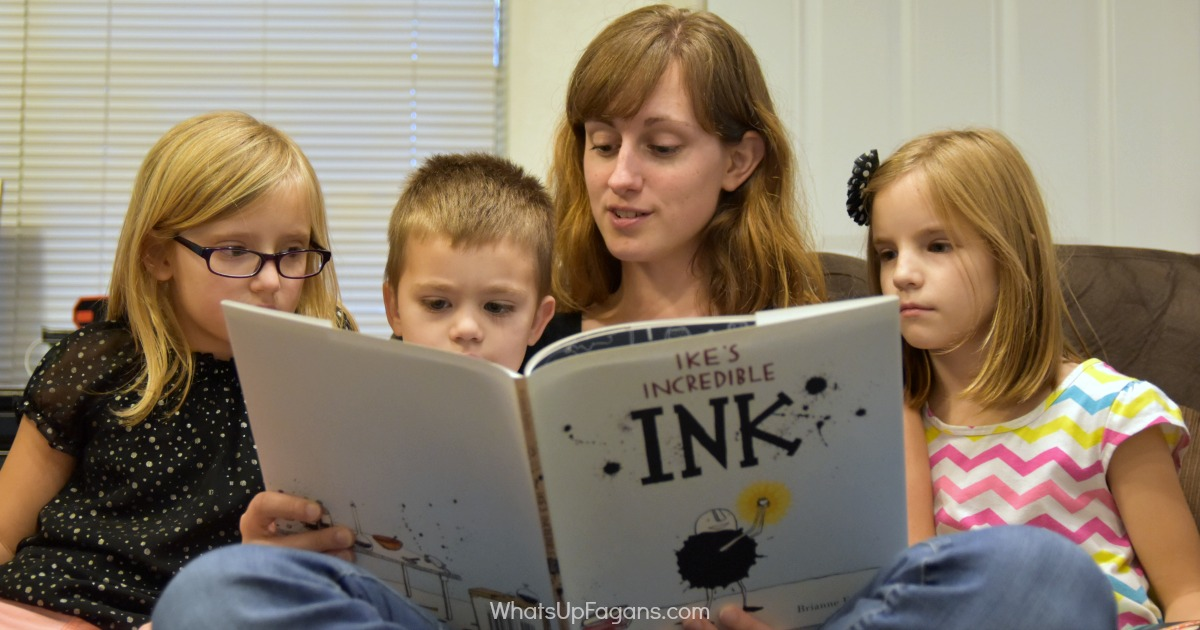 Reading to children - Bookroo Subscription Book Service