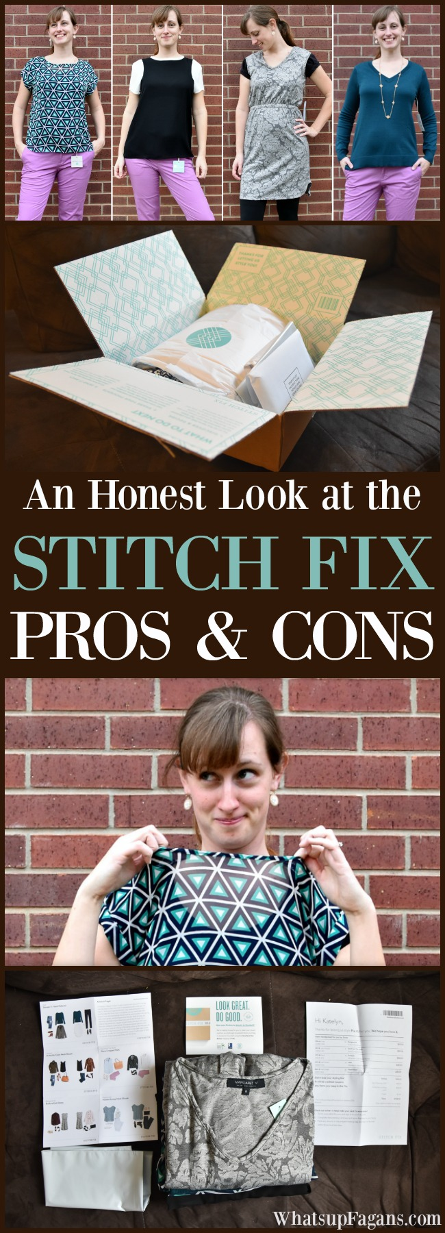 Stitch Fix Pros and Cons   Stitch Fix Cost  Negative Review Positive Review   Bad Review   Honest Review   Clothing Subscription box   Fashion   Style   Personal Stylist   Trends   Wardrobe   Examples   Unboxing