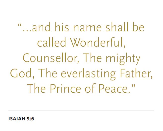 Prince of Peace scripture