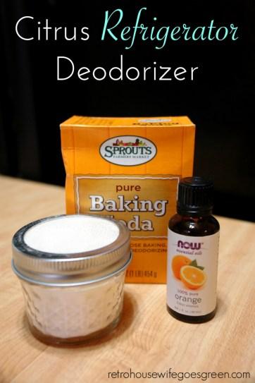 fridge citrus deodorizer